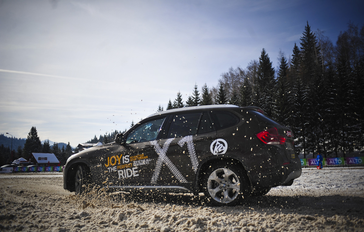 BMW X1 Live Tour in Romania