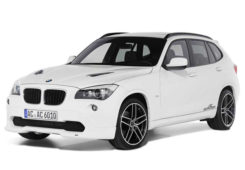 Photos and details about BMW X1 tuned by AC Shcnitzer