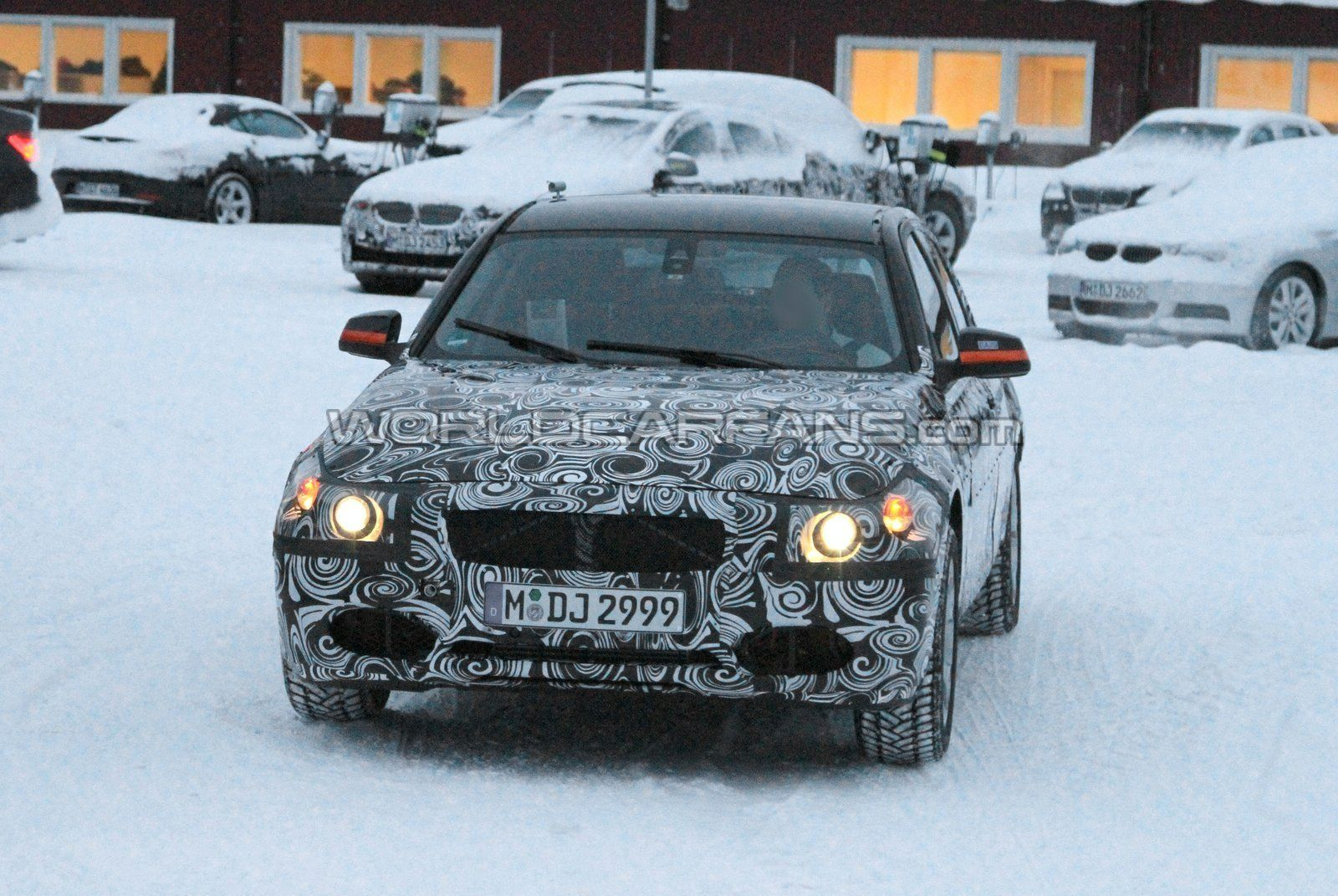 Winter spy video with the 2012 BMW 3 Series (F30)