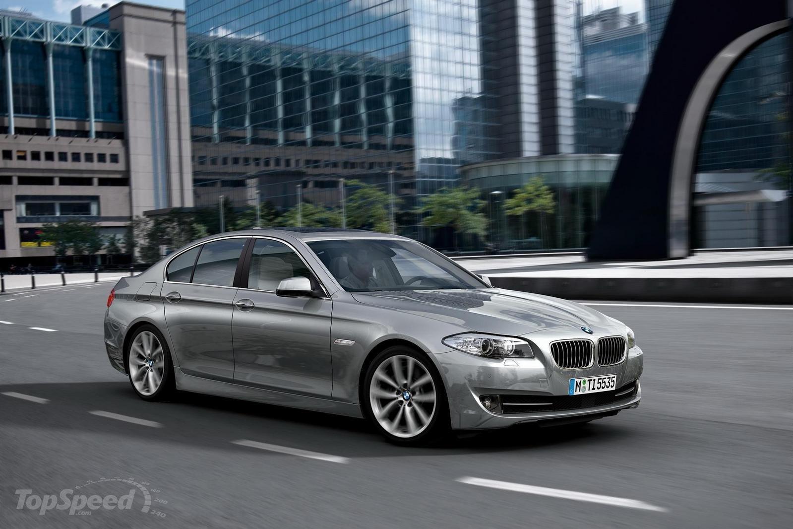 2011 BMW 5 Series Sedanto debut at the New York Auto Show