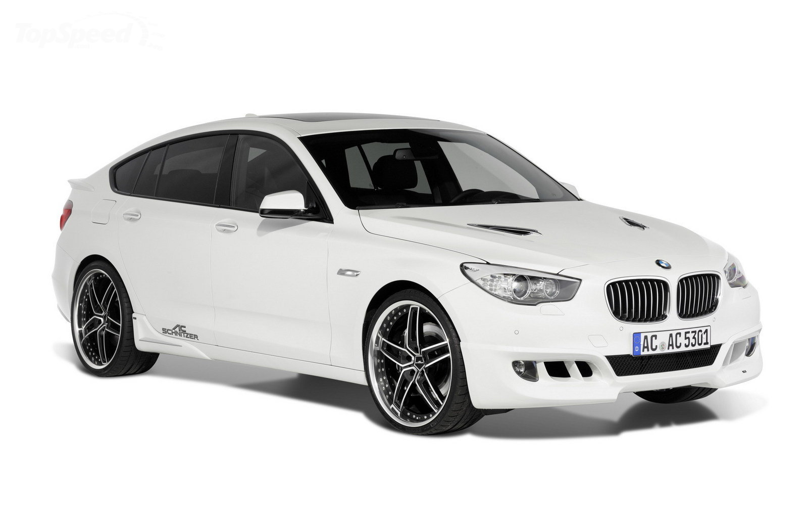 Photos and details about BMW 5 Series GT tuned by AC Schnitzer