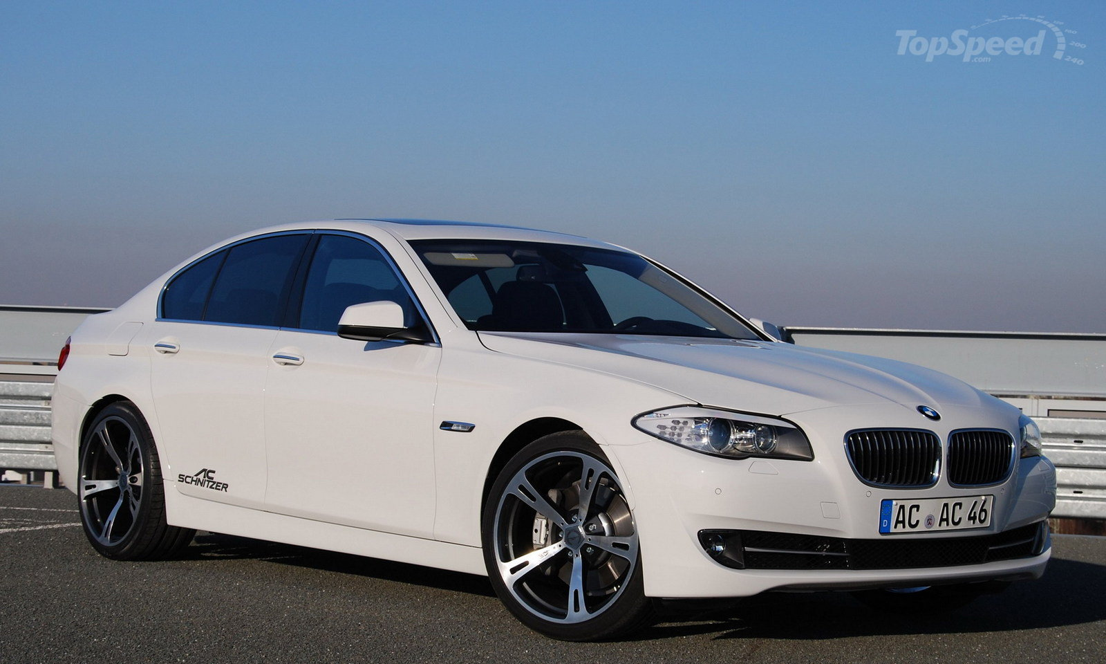 BMW 5 Series tuned by Ac Schnitzer