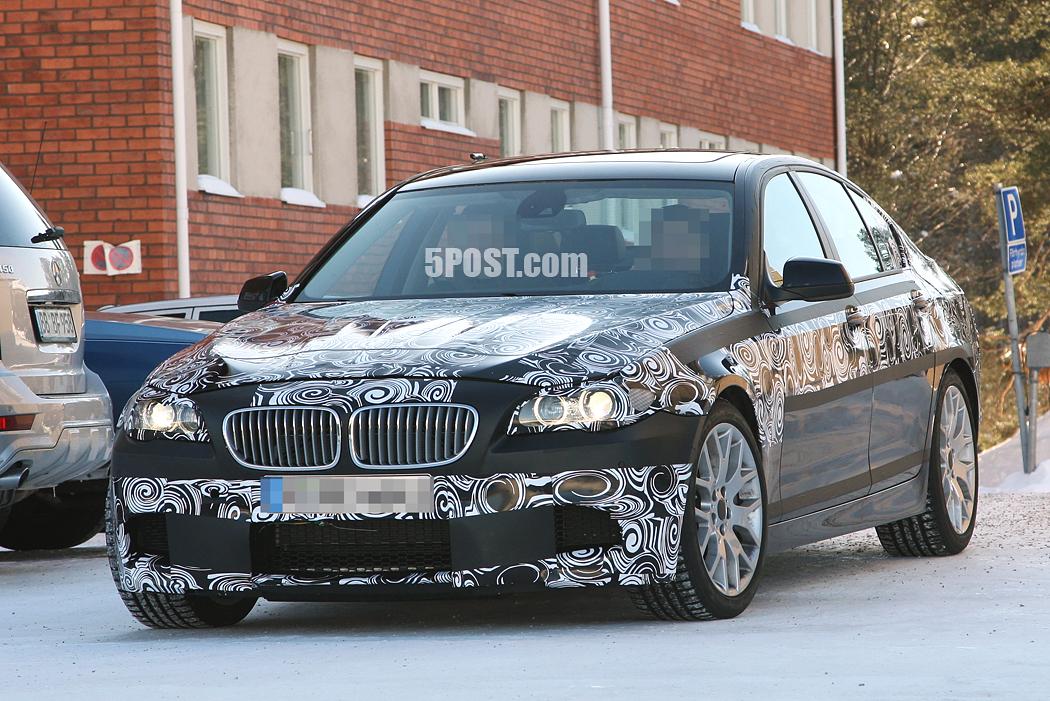 Spy Photos: The new BMW M5 F10