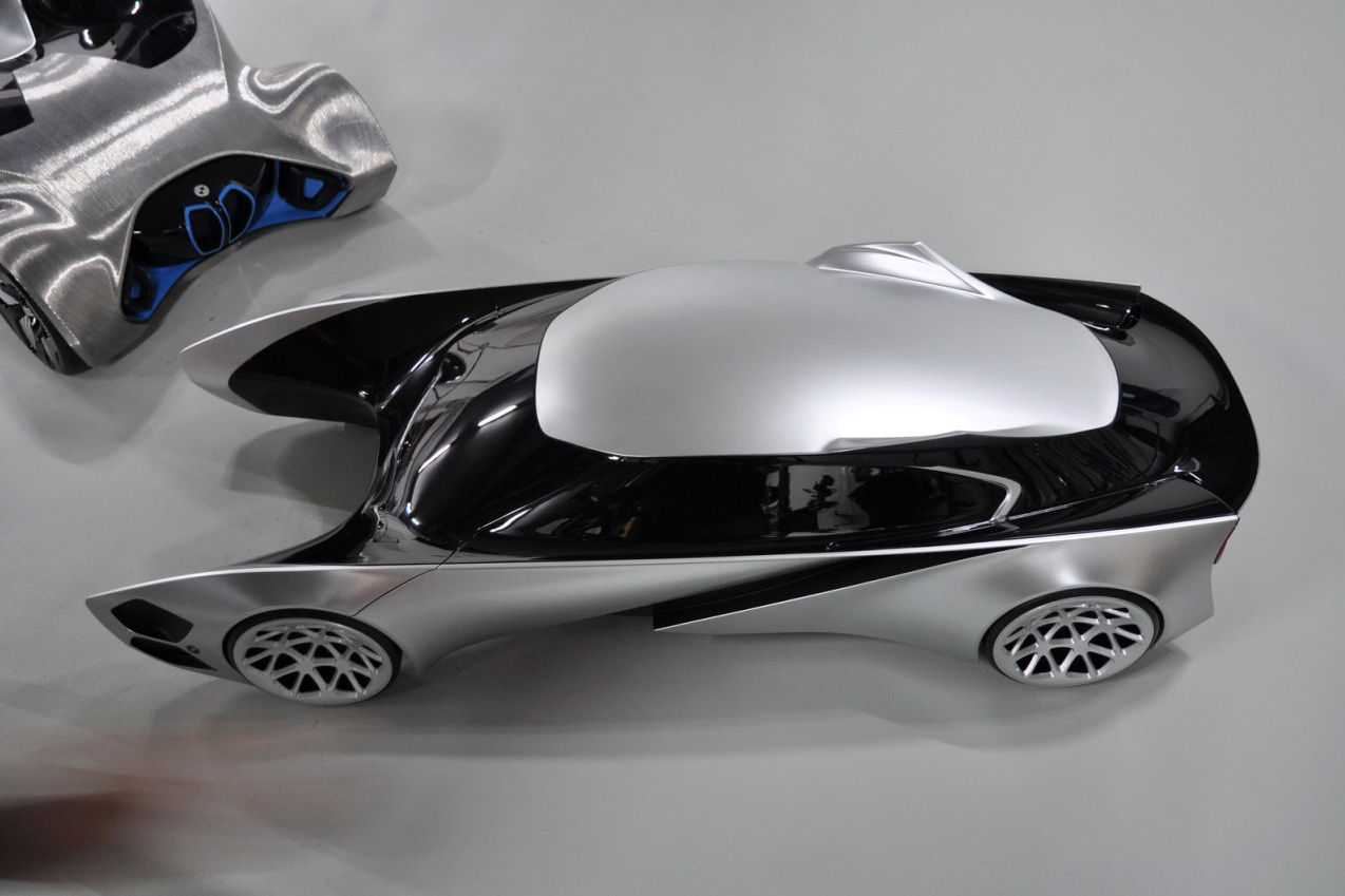 Detailed BMW Sequence GT Concept with EfficientDynamics system