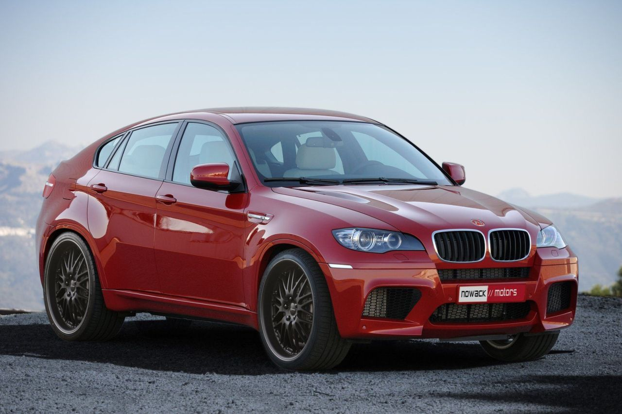 Photo and details about the BMW X6 M tuned by Nowack Motors