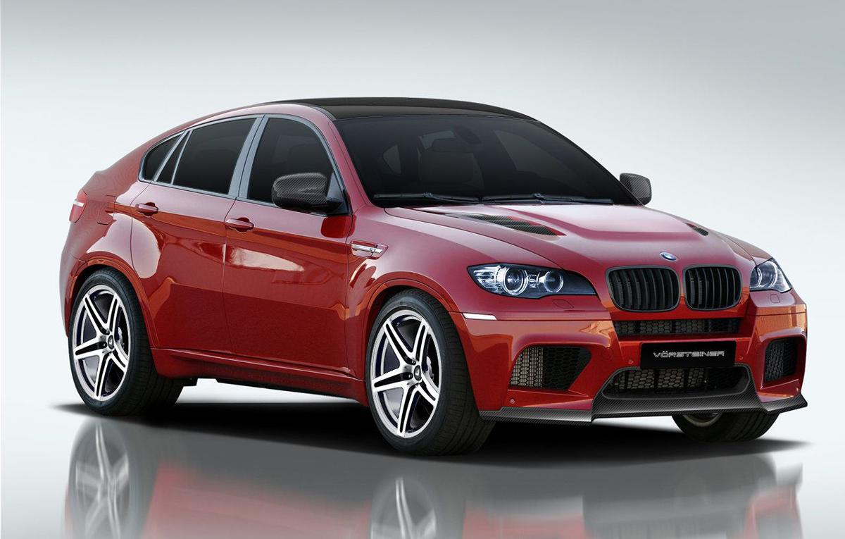 BMW X6 M by Vorsteiner Renderings