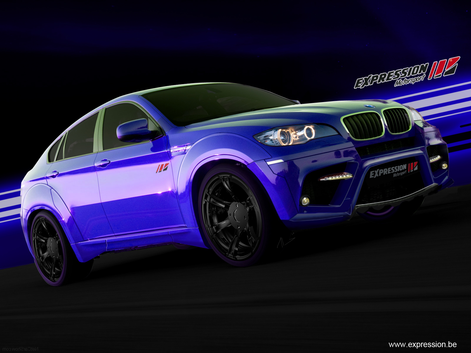 Photos and details about the BMW X6 M tuned by Expression Motorsport