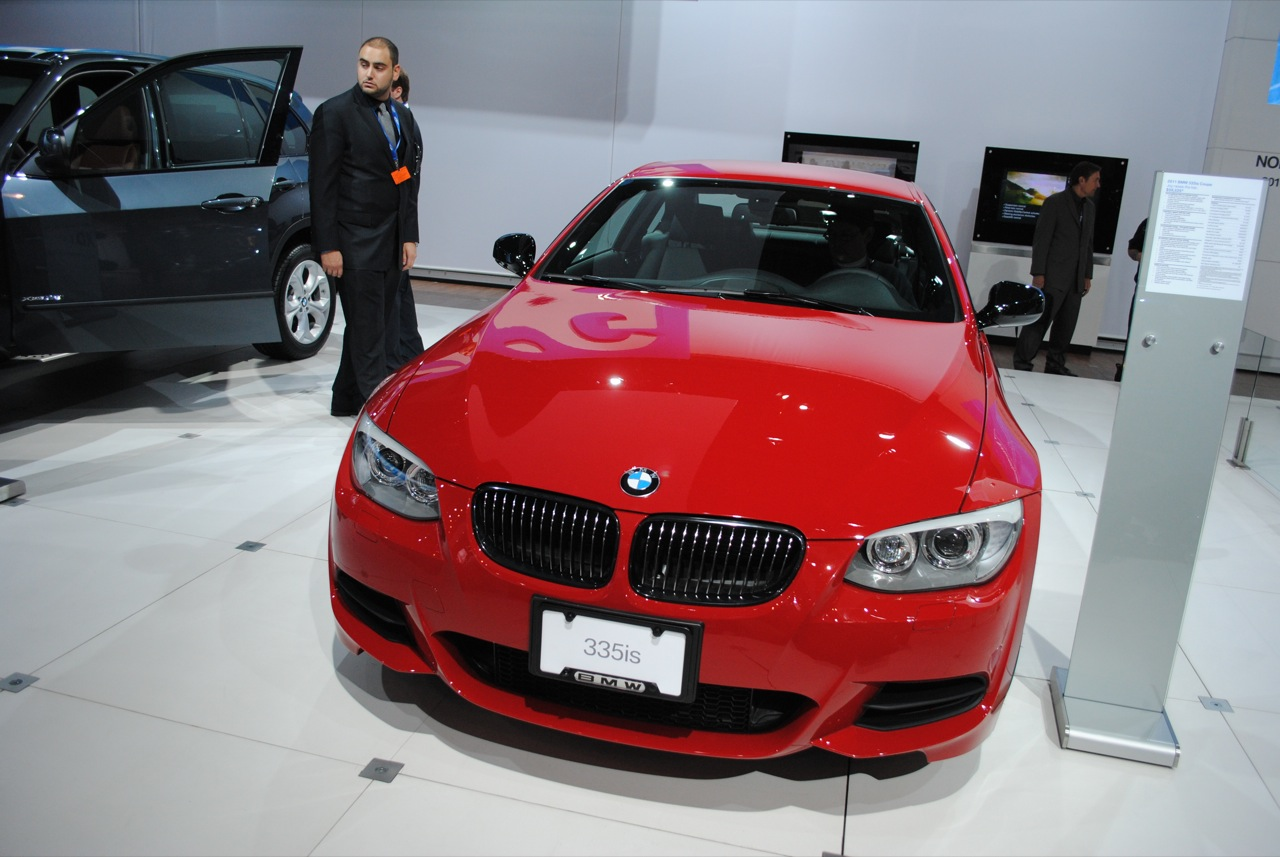 The 2010 BMW 335is at the NY Auto Show
