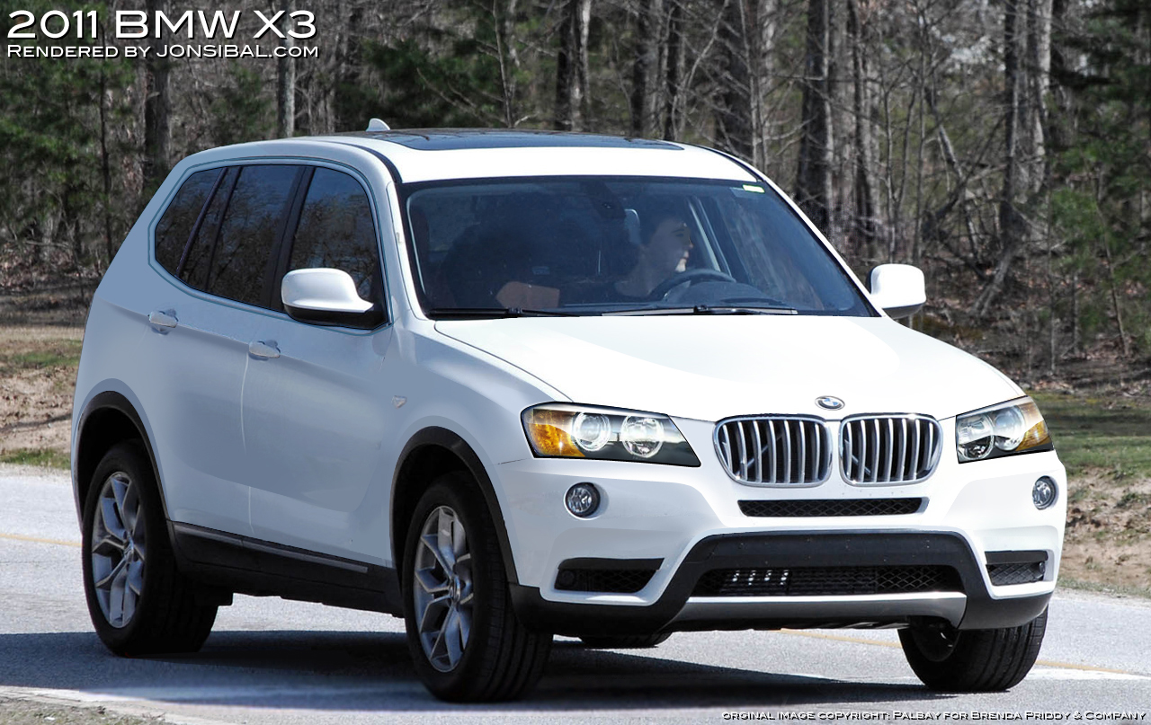 Another realistic rendering: 2011 BMW X3
