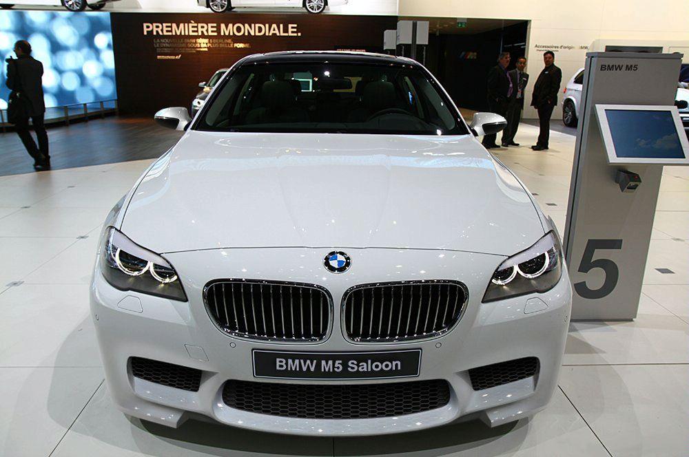 Rendered 2012 BMW M5 F10