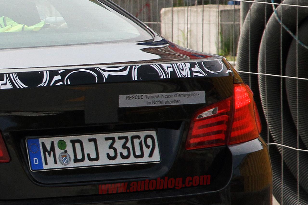 BMW 5 Series Hybrid Spyshot