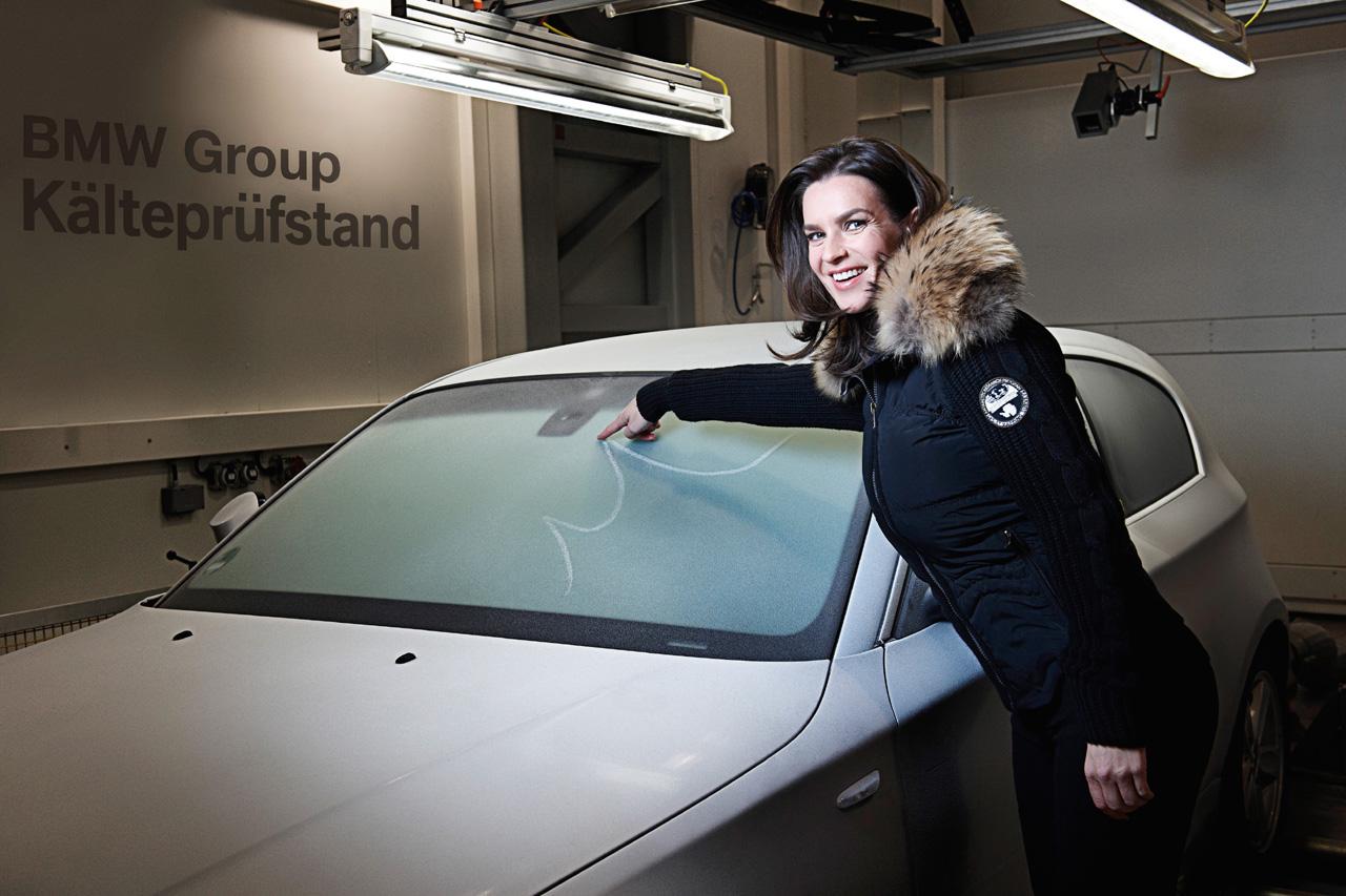 Katarina Witt at BMW ETC