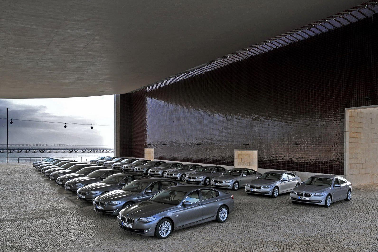 2011 BMW 5 Series Lineup
