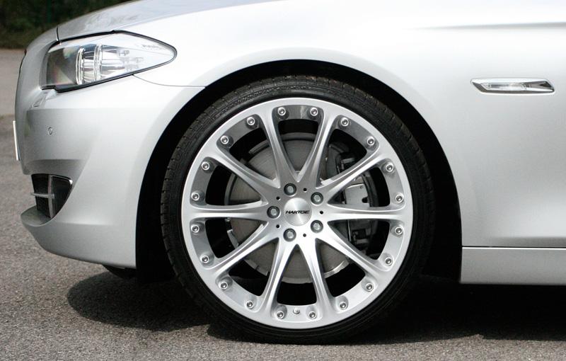 BMW 5 Seris with the new Hartge wheels-4
