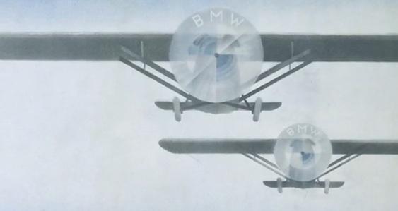 BMW Logo on Aircraft Propeller