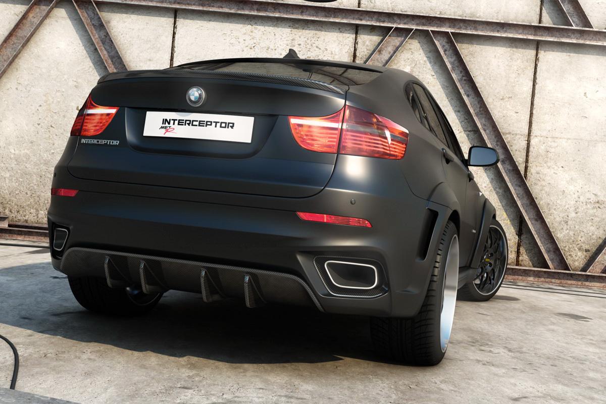 BMW X6 Interceptor by Met-R-3