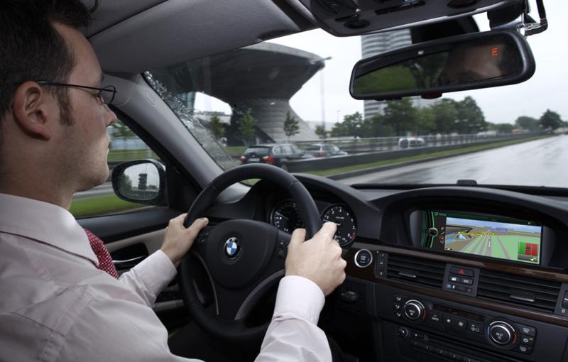 BMW micronavigation system
