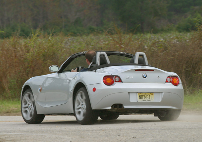 Steering Problems for BMW Z4 in the U.S.