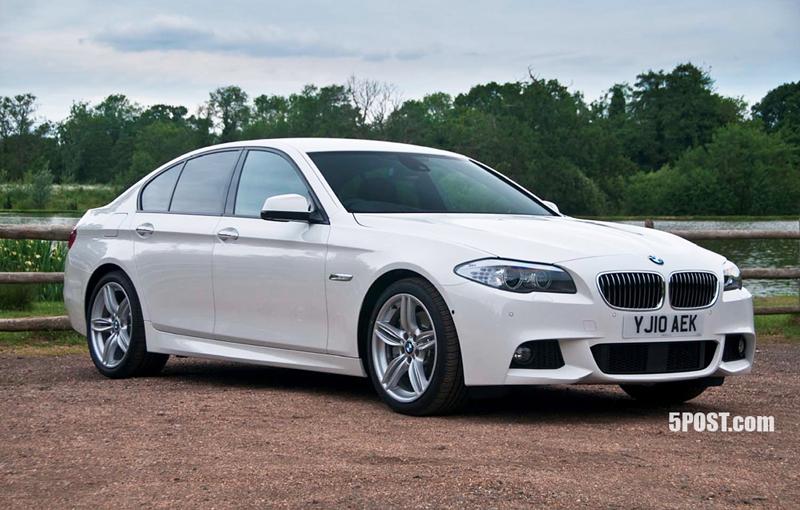 BMW 5 Series F10 Sedan M Package Teasers
