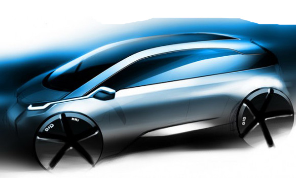 BMW MegaCity Sketch