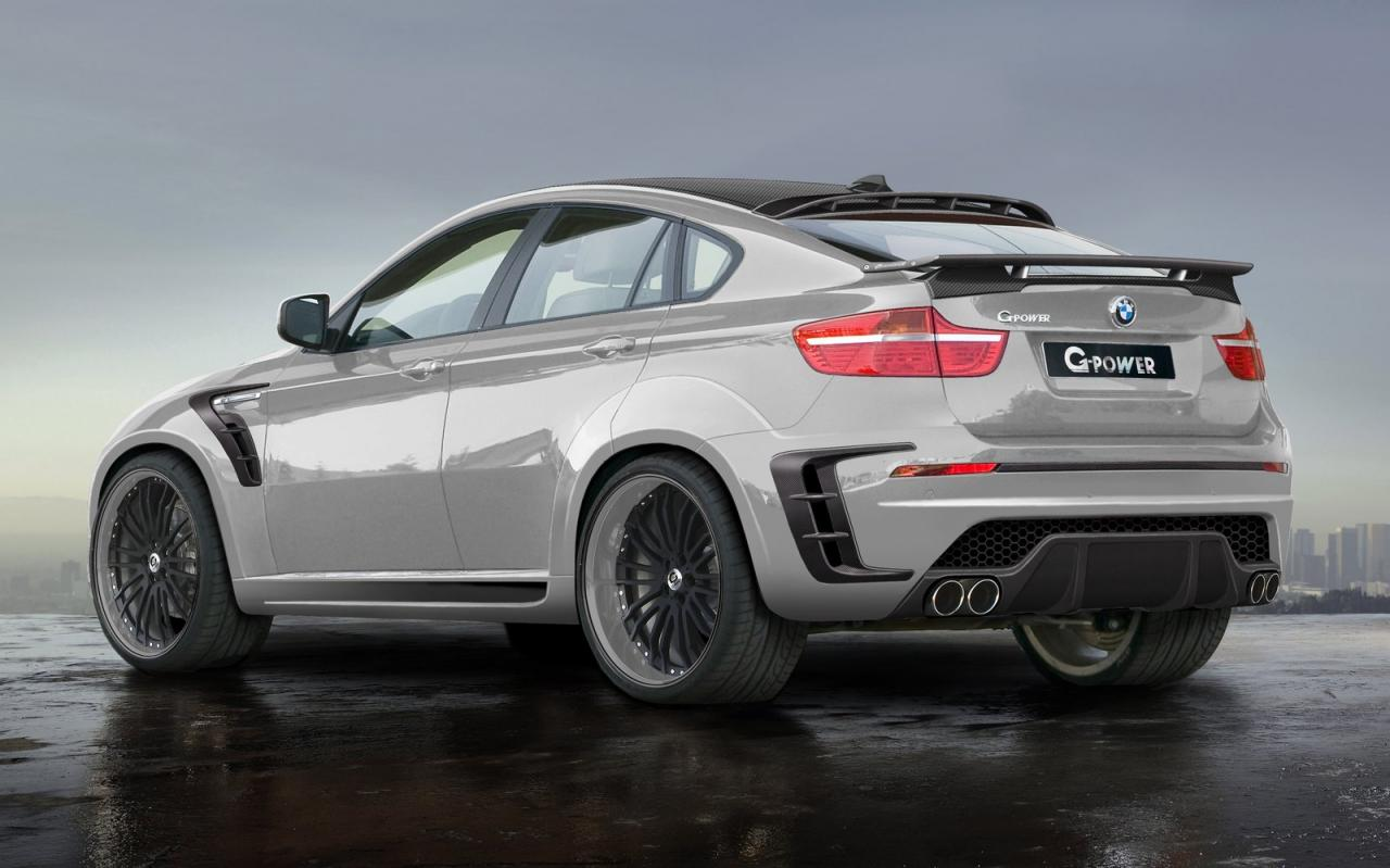 888 horsepower BMW X6 Typhoon RS by G-Power