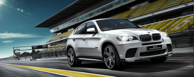 Limited Edition BMW X6 Performance Unlimited for the Japanese market