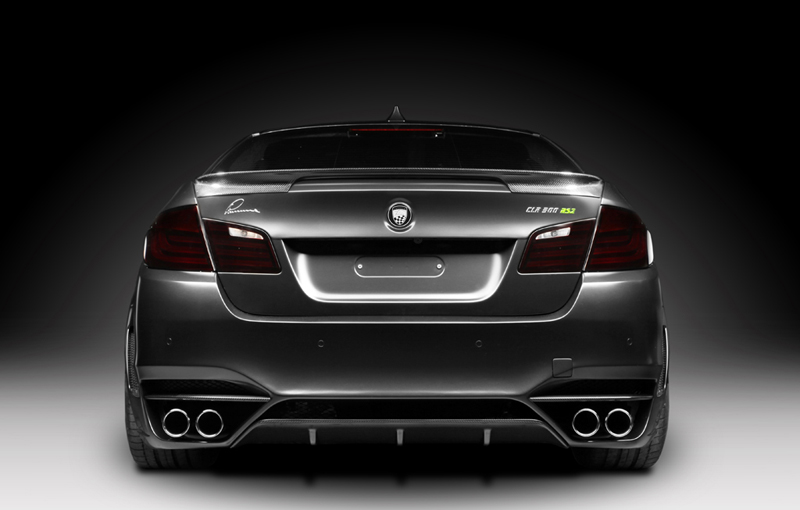 """Lumma Design and TopCar """"CLR 500 RS2"""" Tuning Kit for BMW 5 Series F10"""