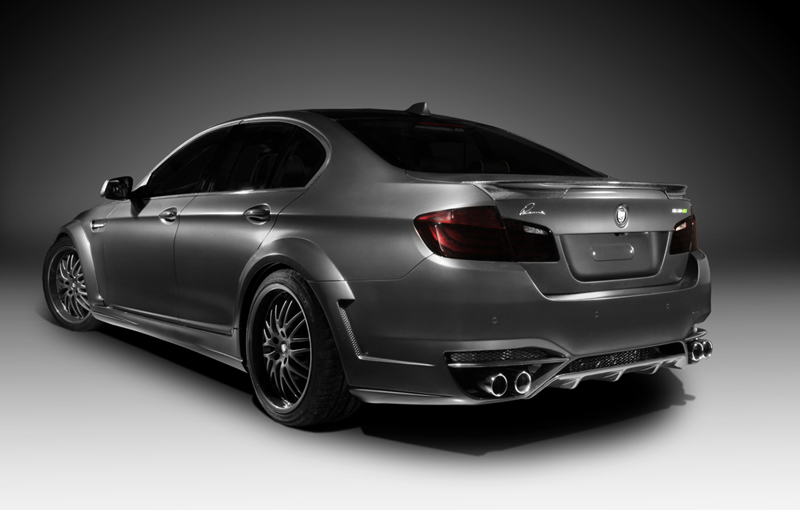 Lumma Design And Topcar Clr 500 Rs2 Tuning Kit For Bmw 5 Series