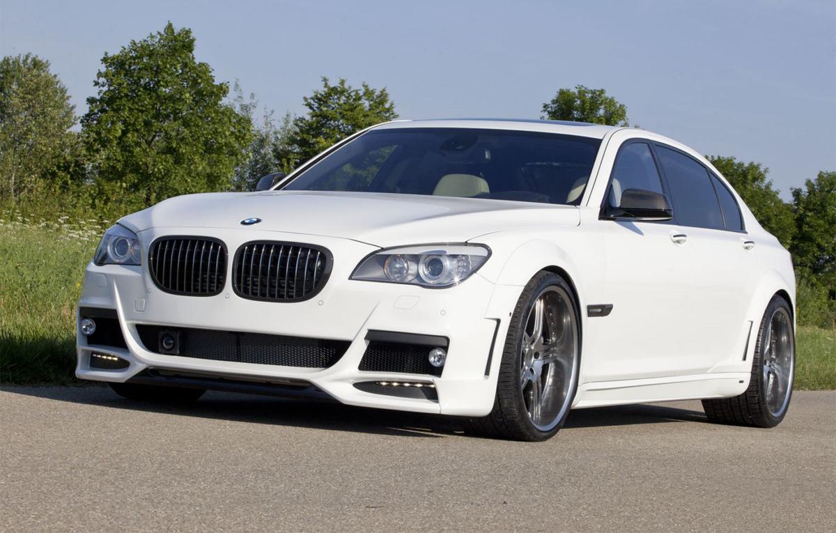 Shaston & Lumma Design BMW 760Li tuning kit