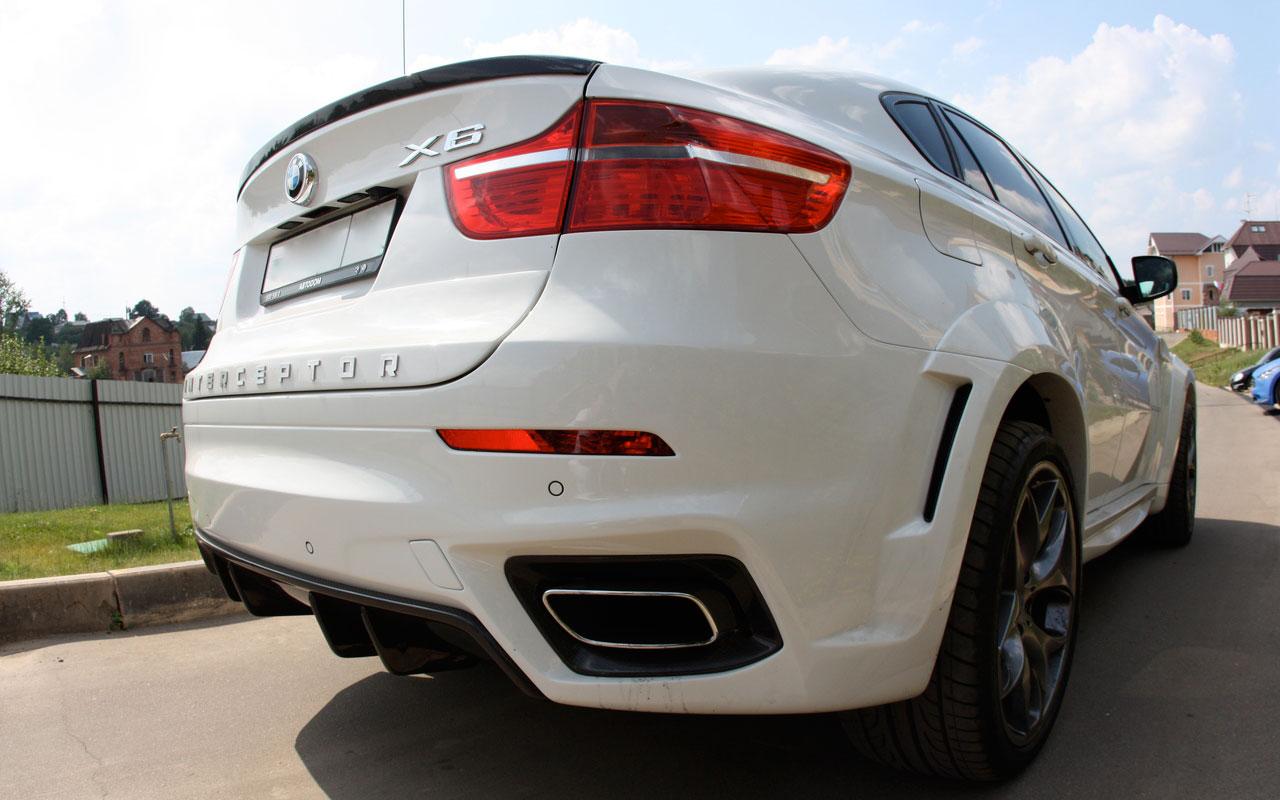 Mega Photo Gallery: Met-R revealed BMW X6 Interceptor real photos