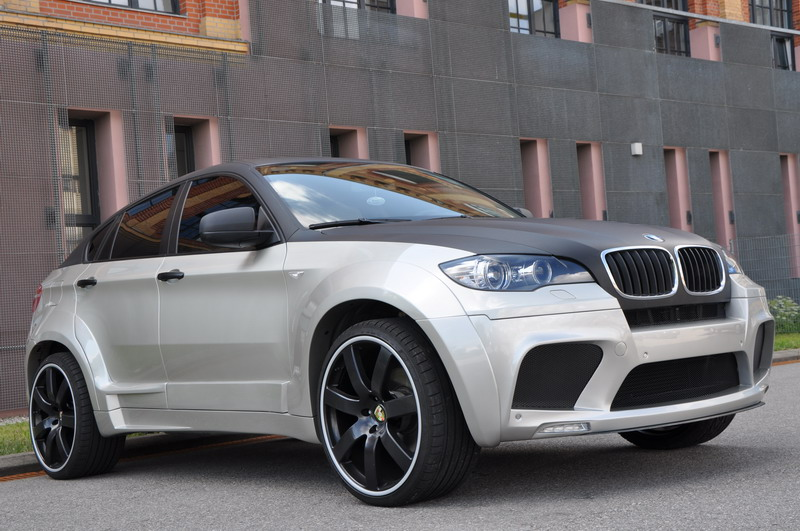 BMW X6 aesthetic kit by Enco Exclusive