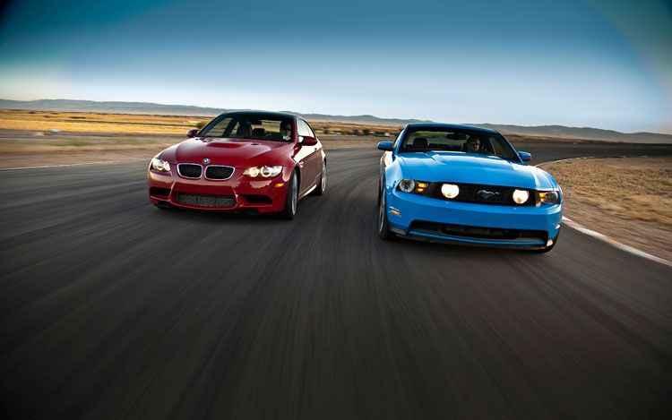 BMW vs Mustang
