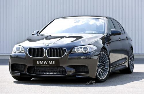 2012 BMW M5 Rendering