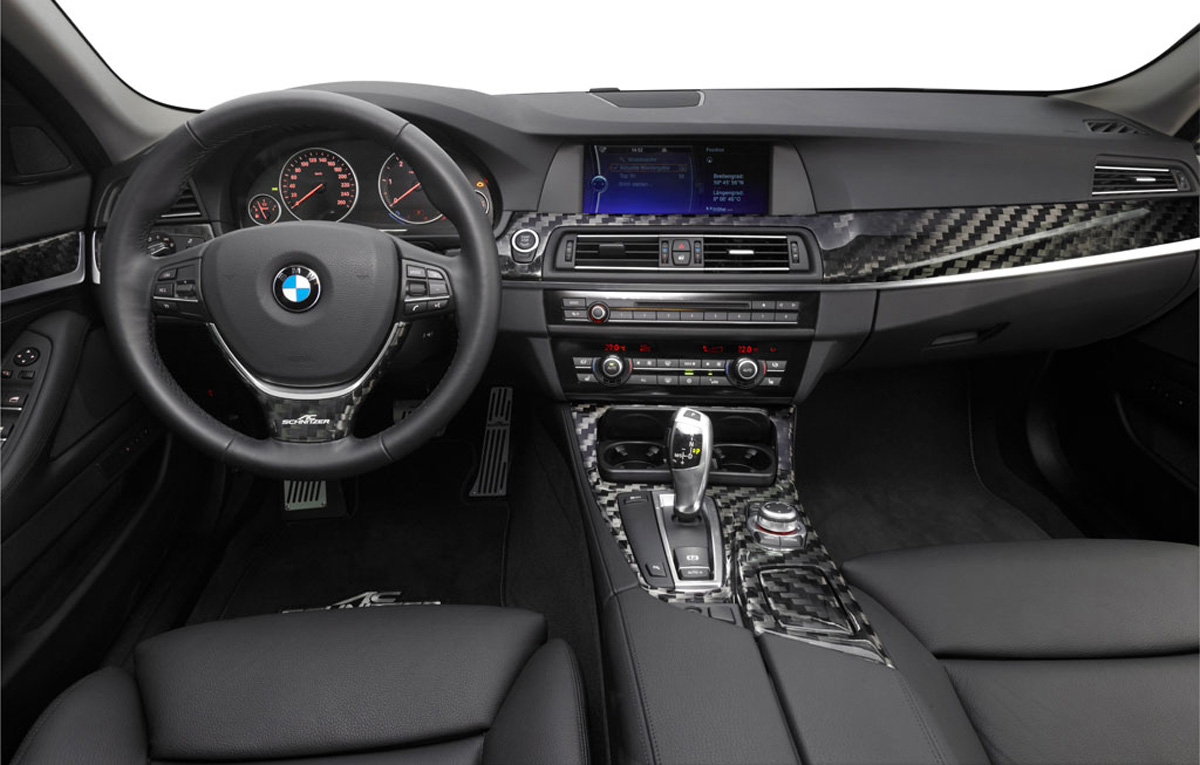 AC Schnitzer improvements for the 2011 BMW 5 Series F10