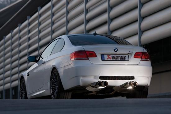 Akrapovic BMW M3 Evolution
