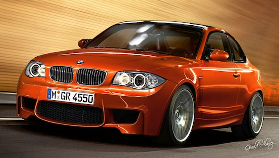 BMW 1 Series M Coupe Rendering