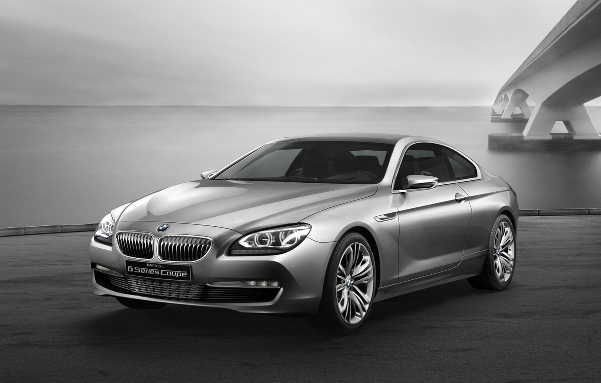BMWs 6 Series Coupe concept partially revealed  BMWCoop
