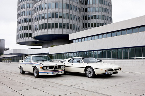 BMW 3.0 CSL and BMW M1