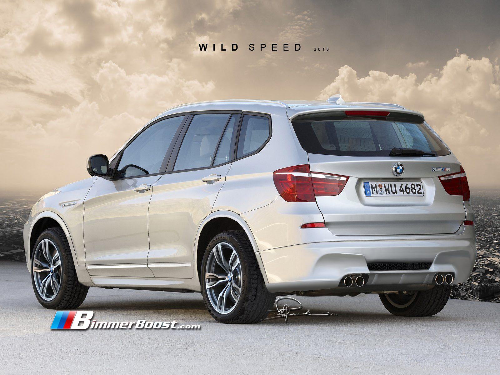 BMW X3 M F25 Rendering