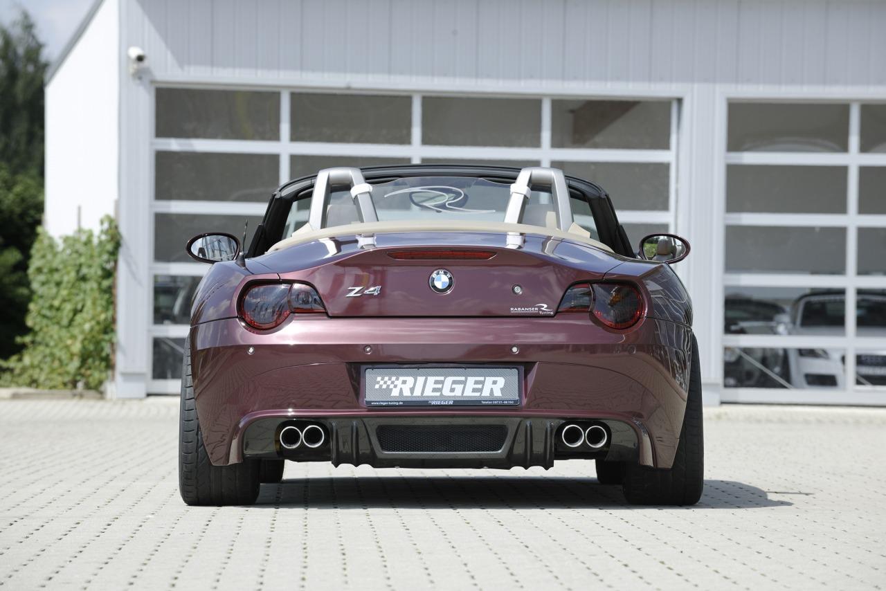 Rieger BMW Z4 Rear