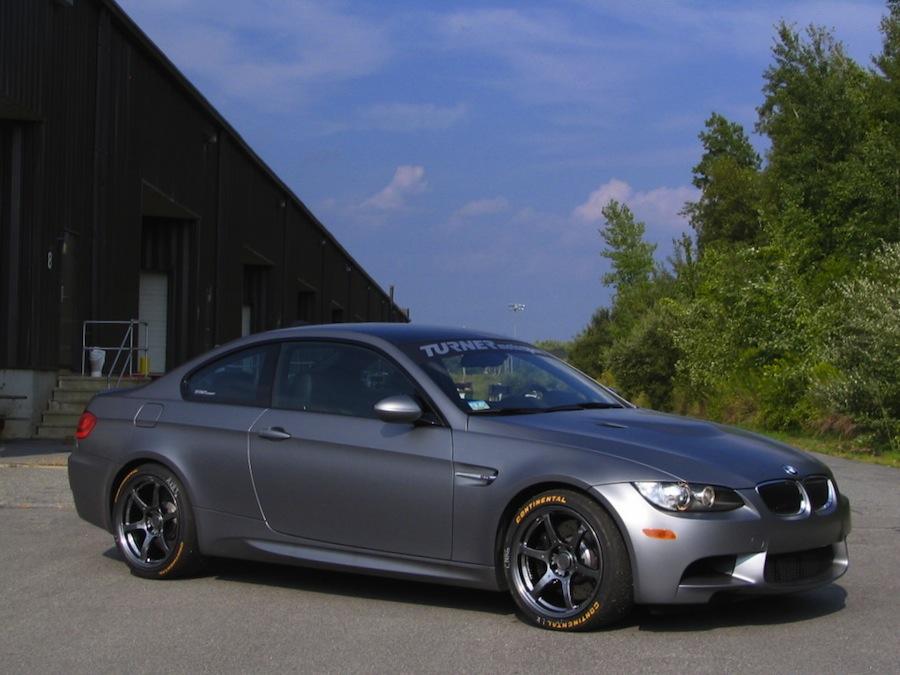 Turner Motorsport BMW M3 Frozen Gray