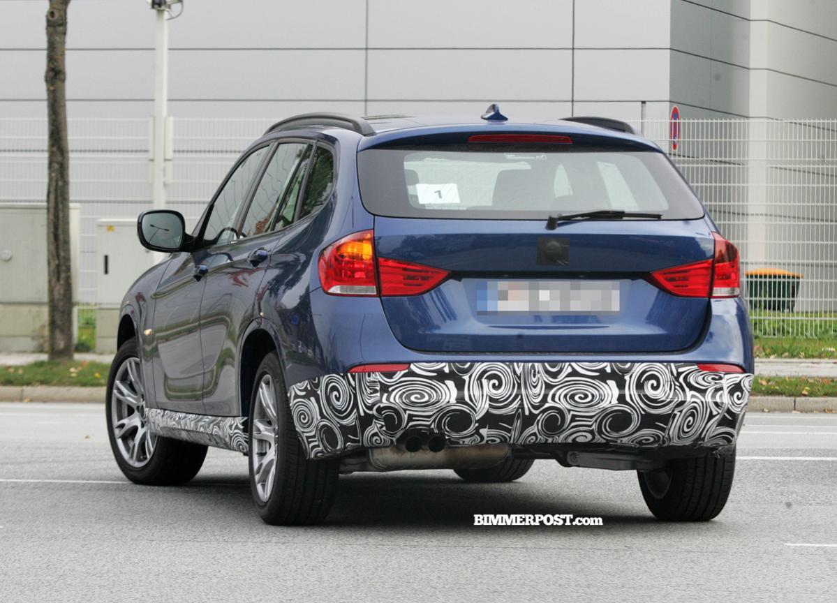 2012 BMW X1 M-Sport Spied