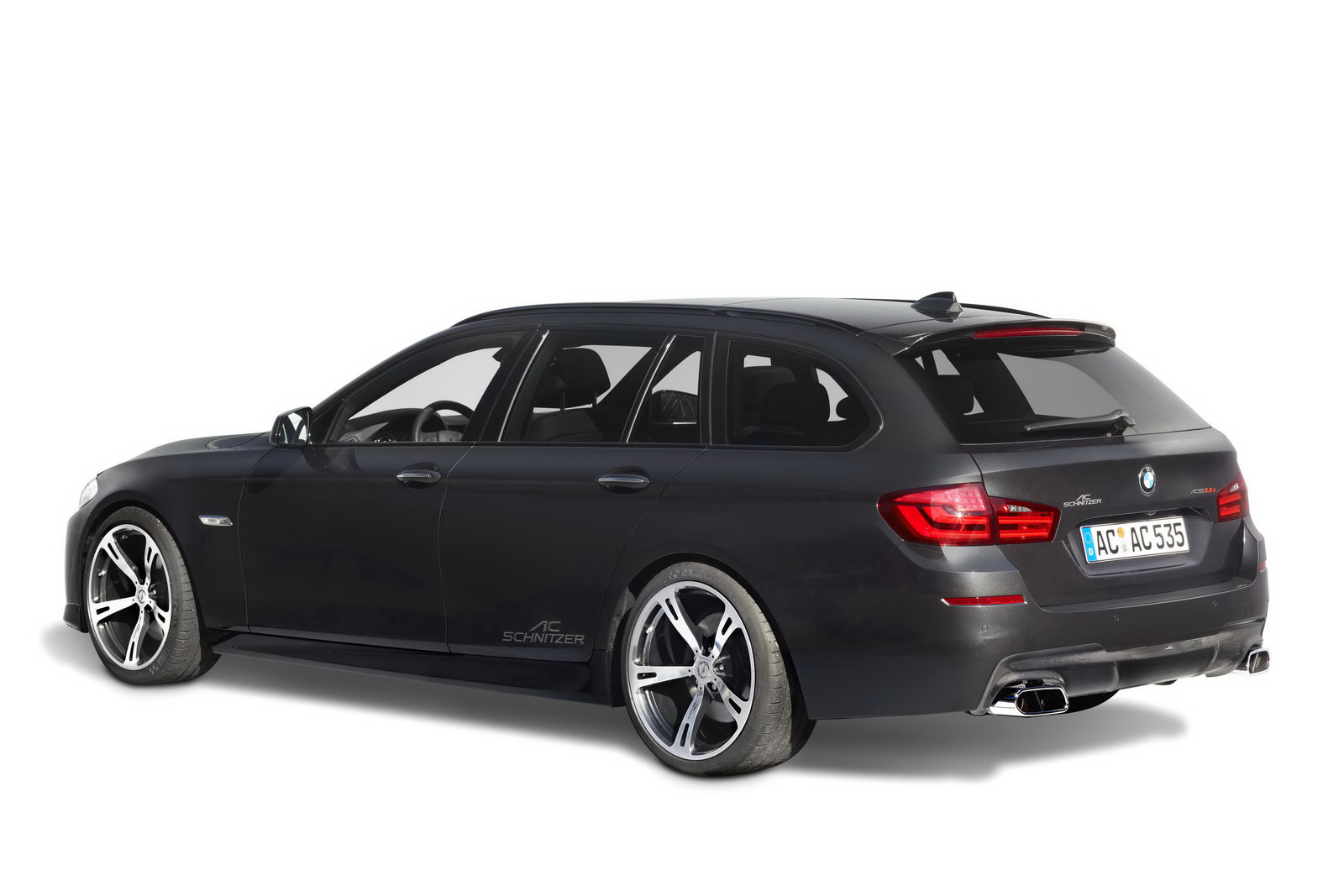 VIDEO: BMW 5 Series Touring F11 benefits from AC Schnitzer tuning kit