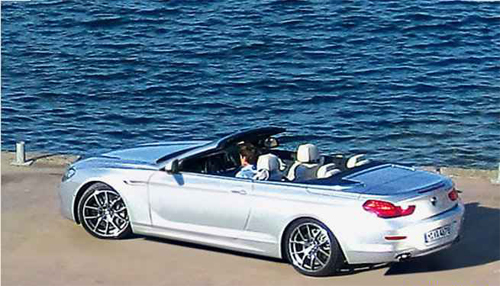 Incoming BMW 6 Series generation, the main automotive attraction in Mission Impossible 4