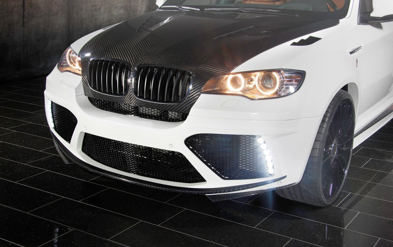 BMW X6 M gets similar tuning kit as the X5 M from Mansory