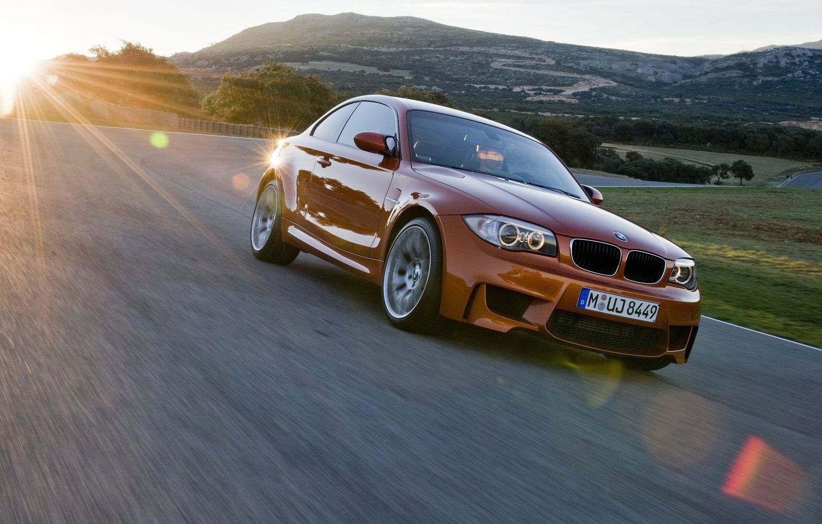 BMW 1 Series M Coupe already breaks a speed record