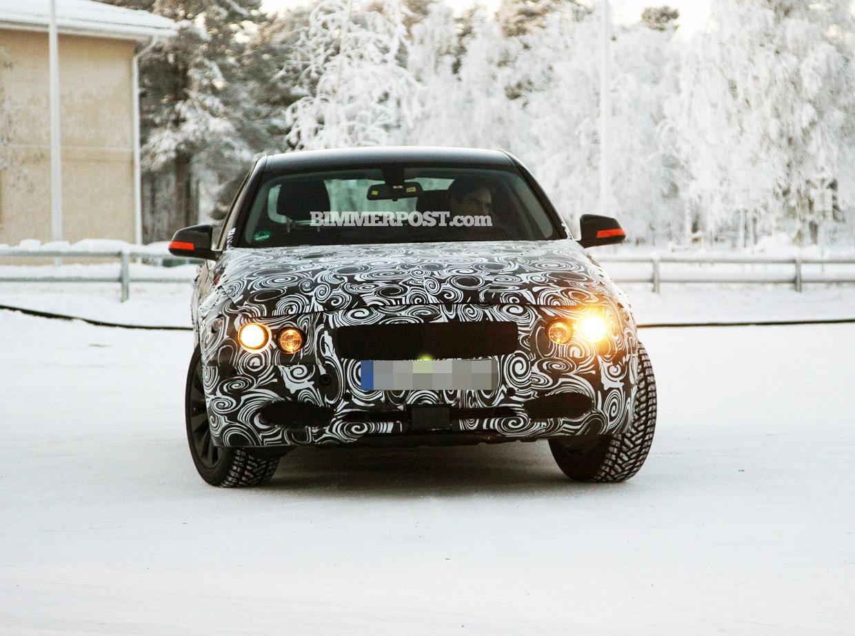 BMW 3 Series F30 Spied