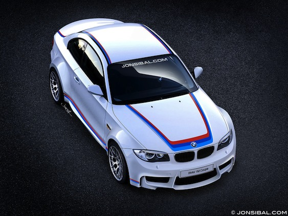 The competition version of BMW 1 M Coupe to take shape very soon