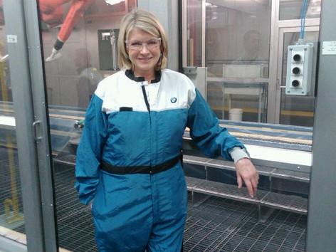 Martha at BMW