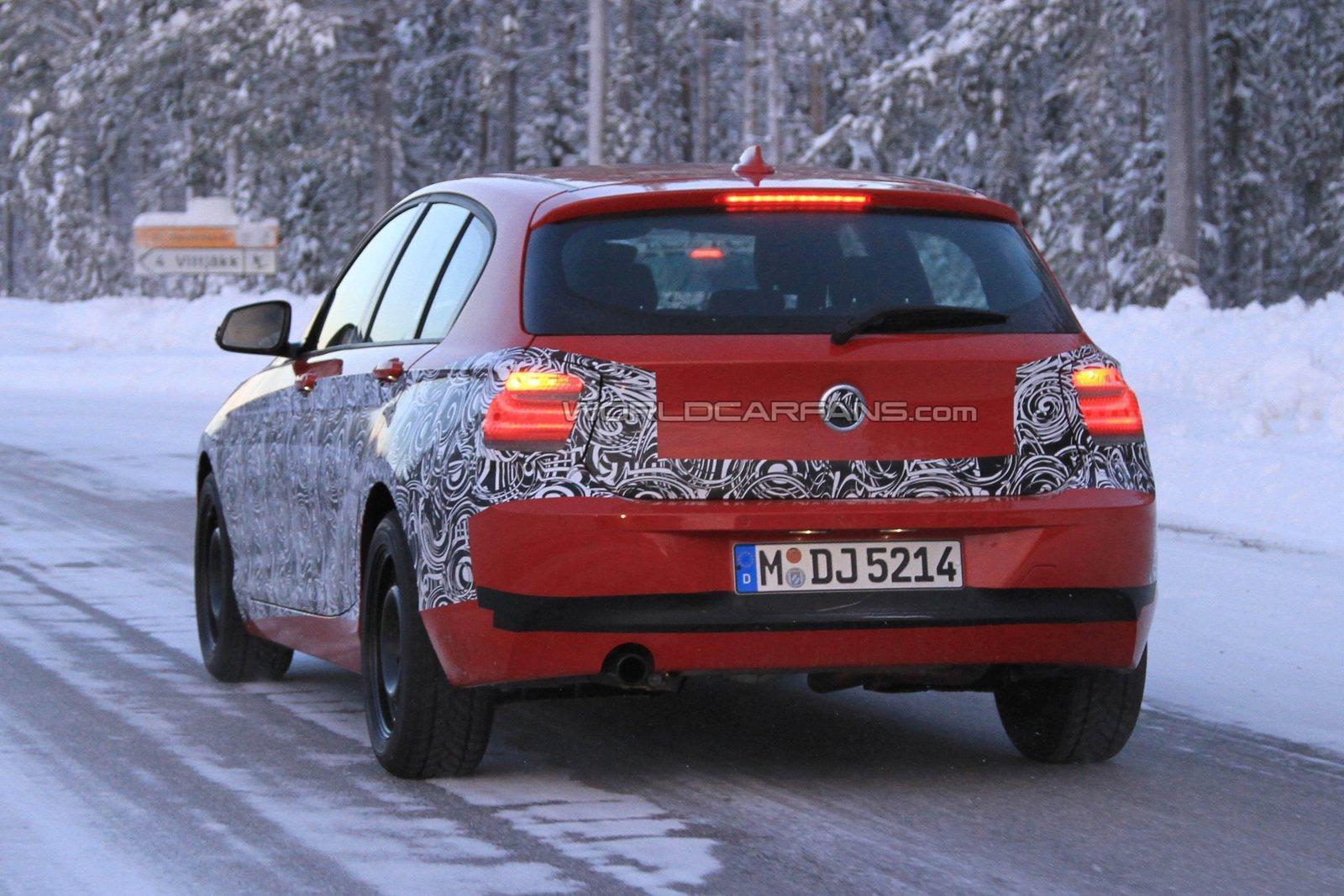2012 BMW 1 Series F20 spied